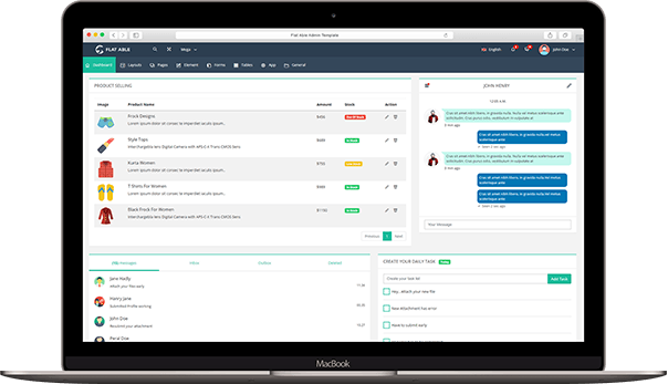 Flat Able v2 0- Premium Admin Template by Phoenixcoded